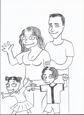 The Gallaghers - Simpsons Style